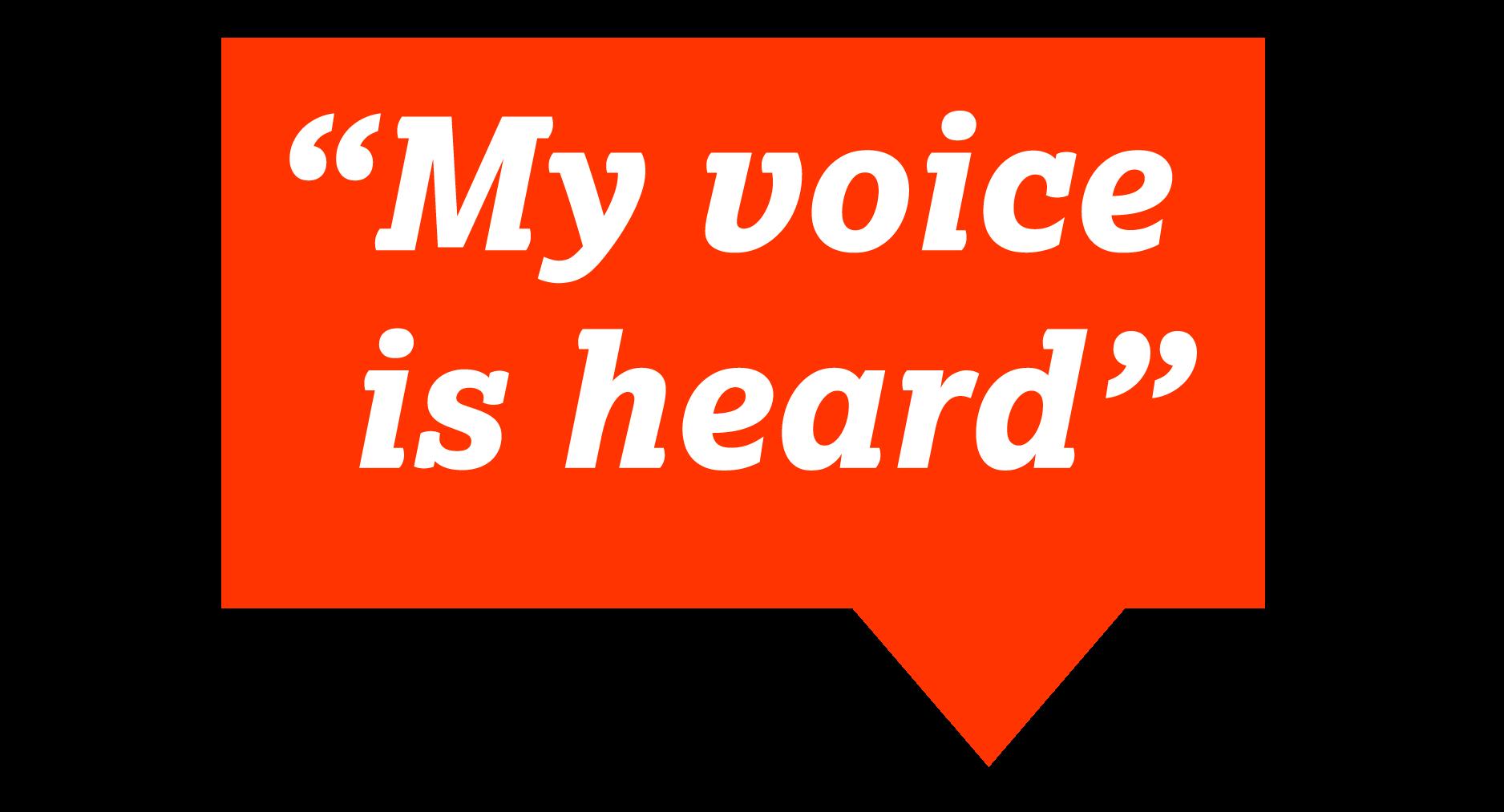 My-voice-is-heard