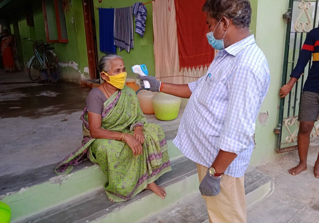 Inamreddiyapatty village temp testing of elderly