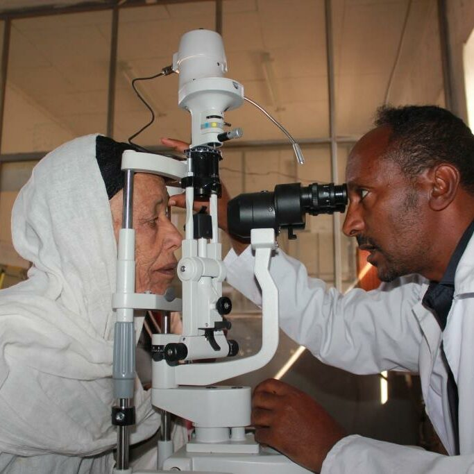 Primary eye care facility for older people